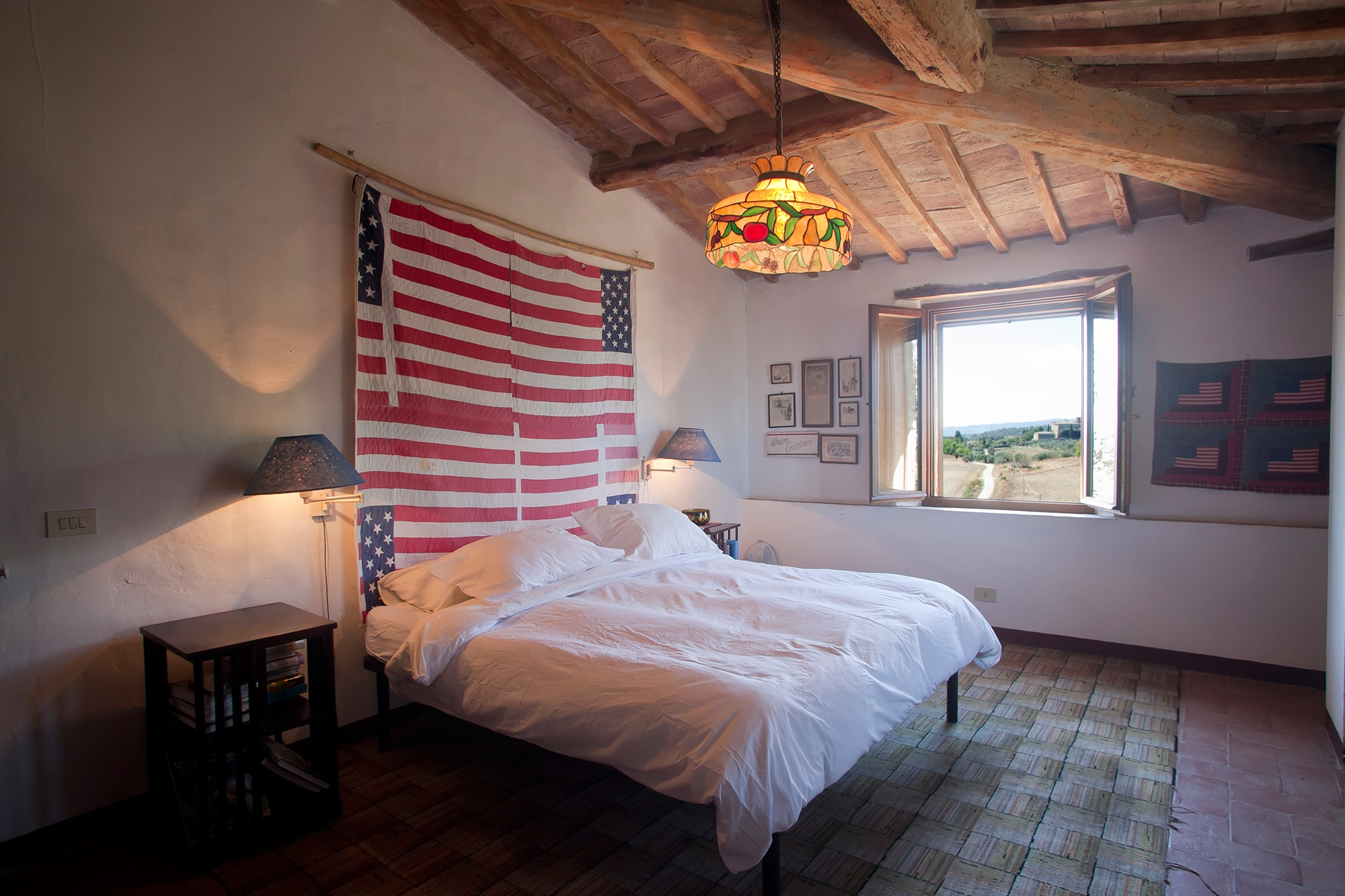 Flag Guest Bedroom