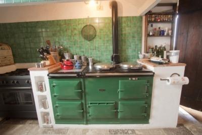 Kitchen at Il Mandorlo